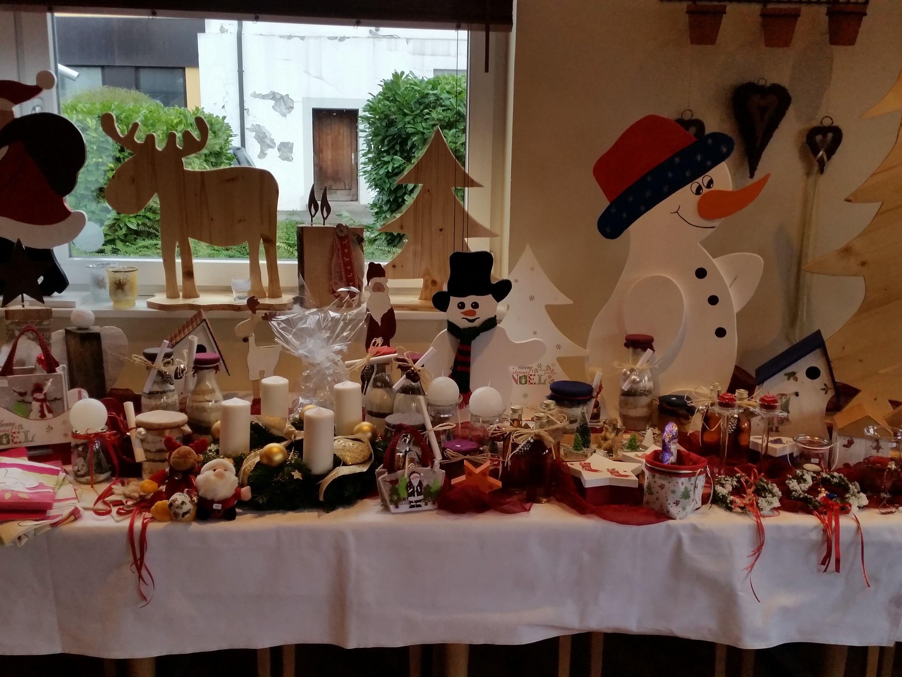 Weihnachten kann kommen, zumindest für die fleißigen Bastler vom Verein Herzenssache, der am Sonntag zum Adventmarkt lädt.