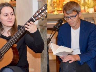 Angela Mair und Alexander Jehle treten am Freitag-Abend in Bludesch auf.