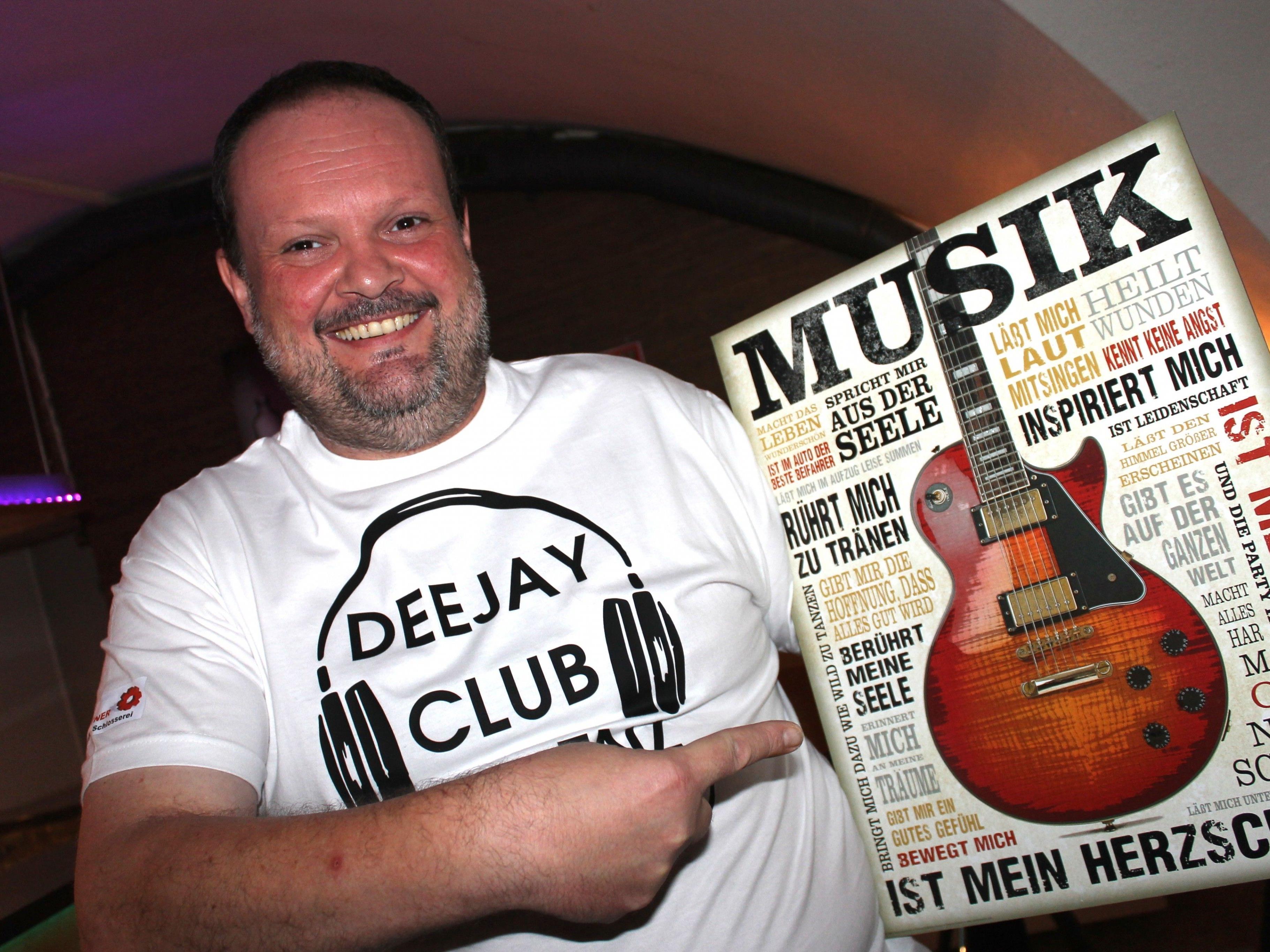 """DJ Faxe sorgt heute ab 20. Uhr für 100% Rock in der Gewölbebar von """"Antonio"""""""