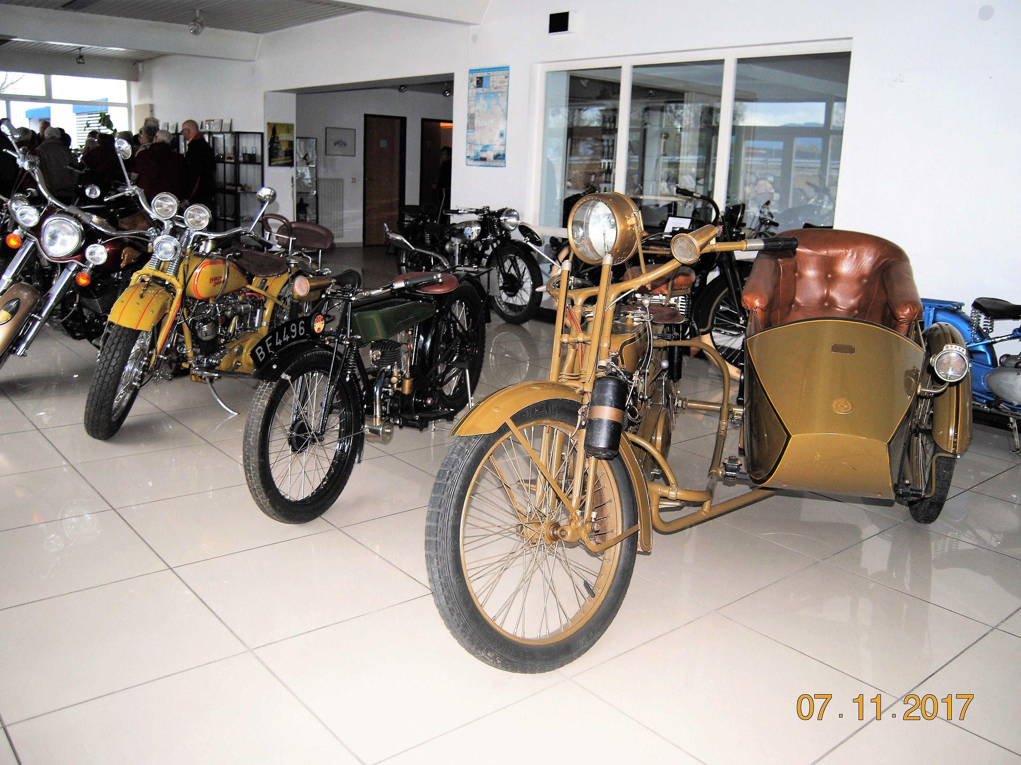 Viele alte Modelle gab es zu bestaunen