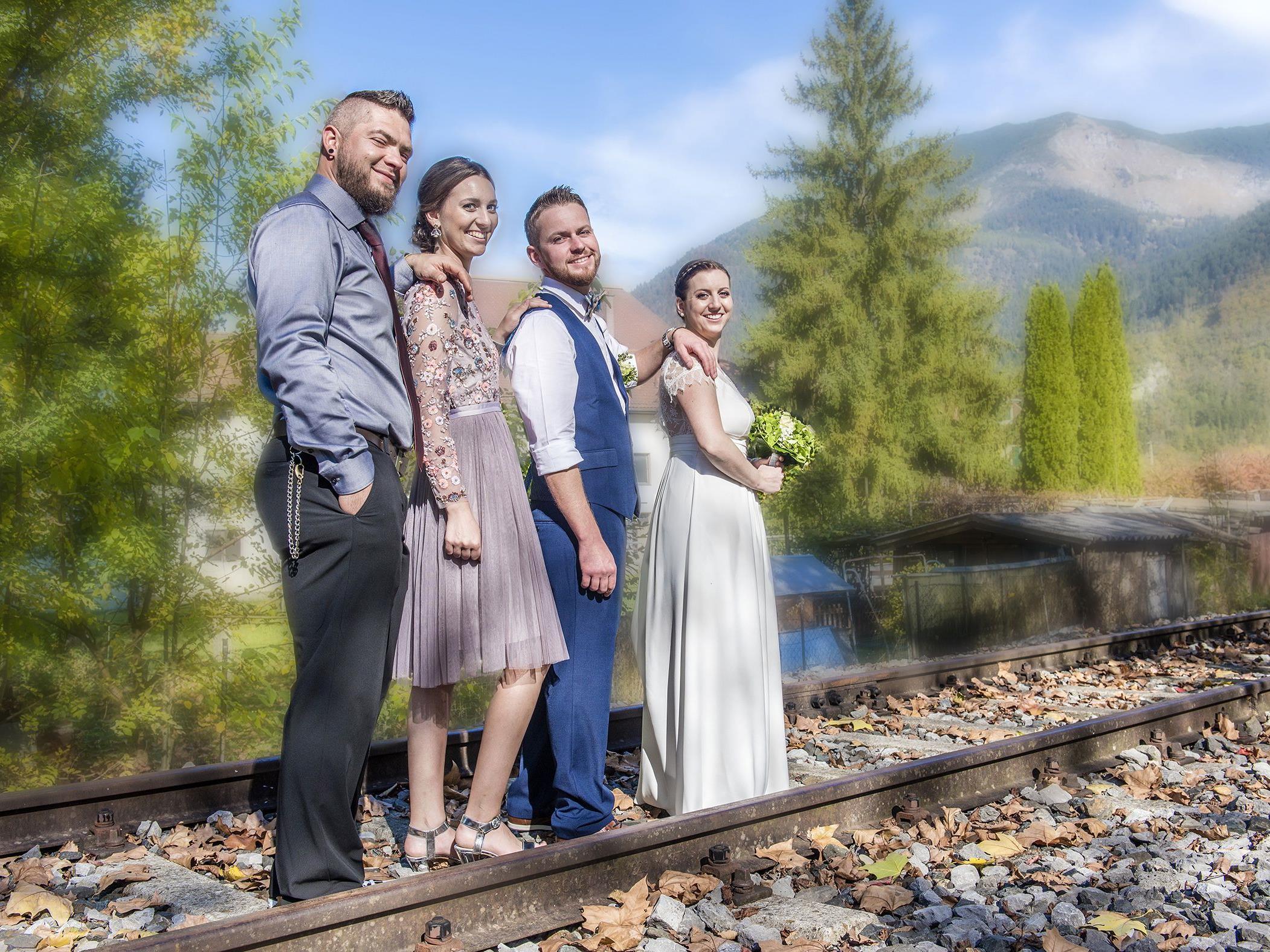 Martina Plangg und Reiner Gaßner haben geheiratet