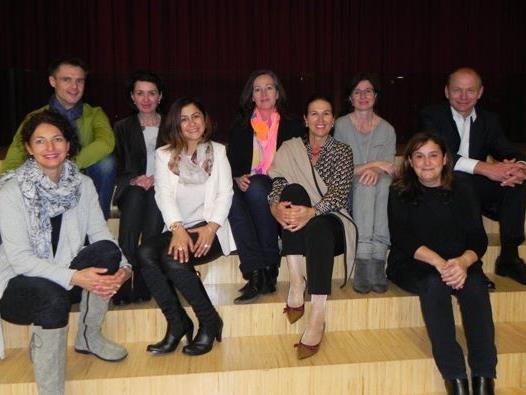Der Vorstand des Elternvereins am Gymnasium Bludenz.