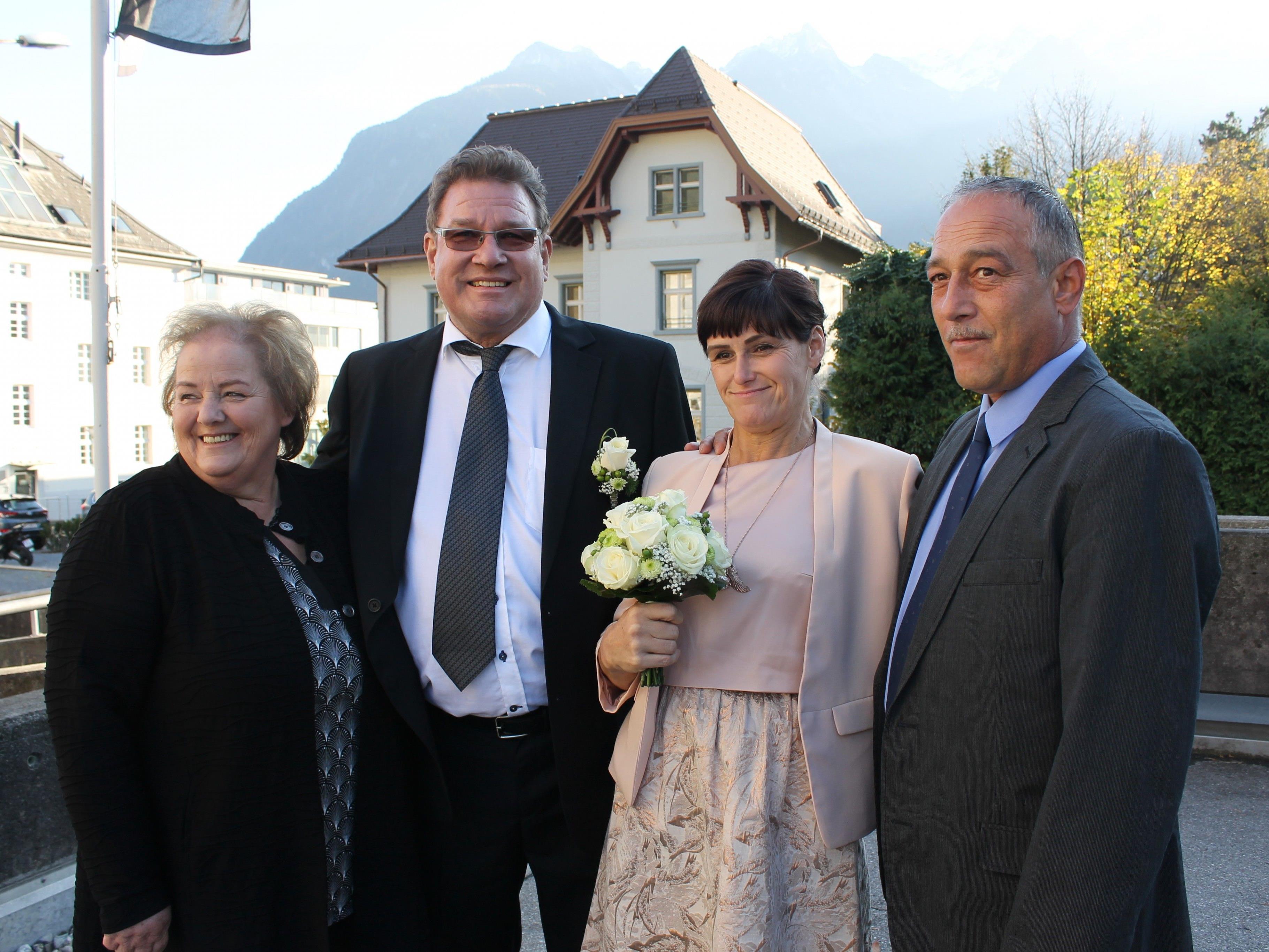 Sandra Hohenauer und Helmut Dreier haben geheiratet