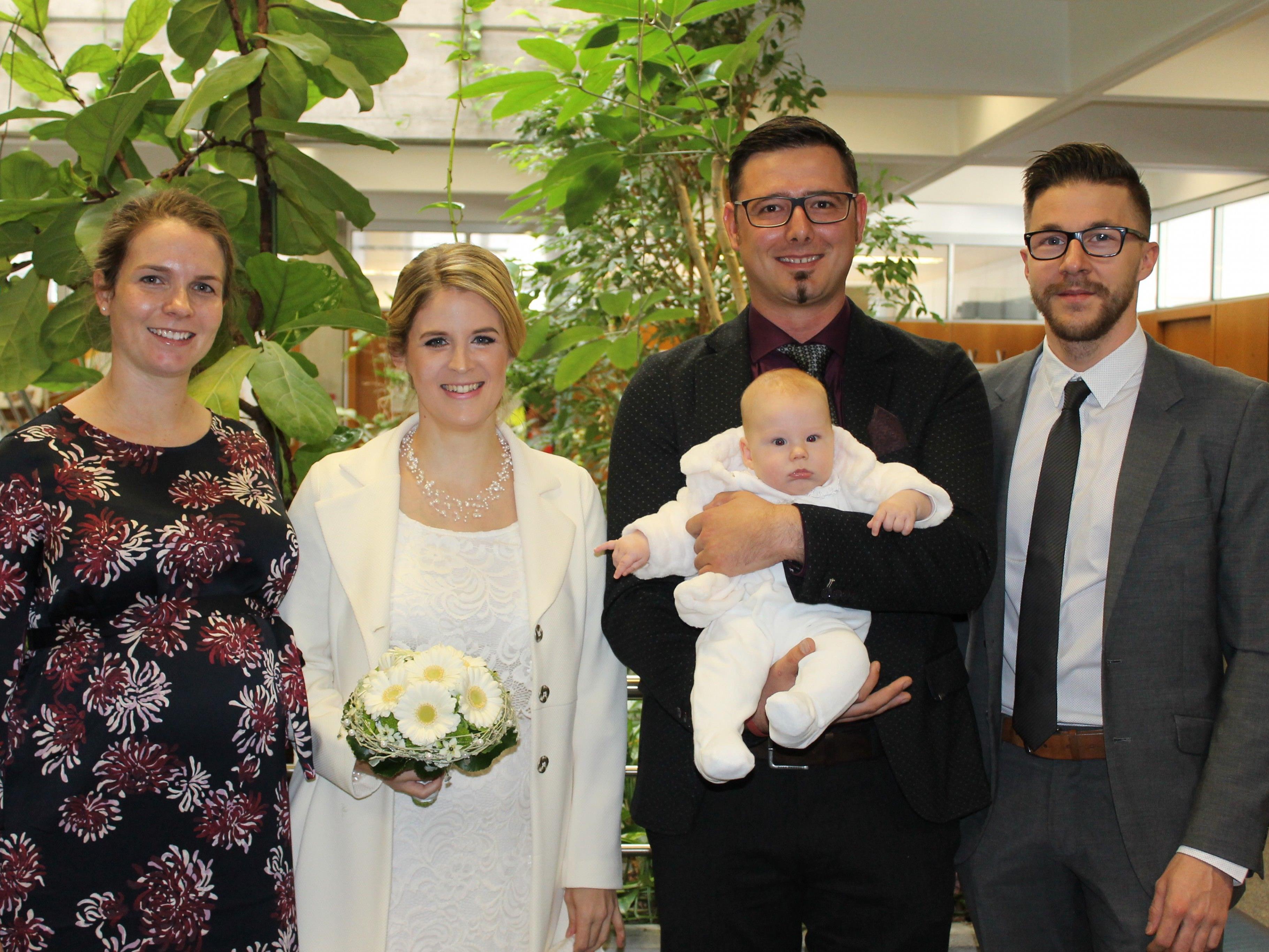 Christina Muther und Joachim Zoderer haben geheiratet