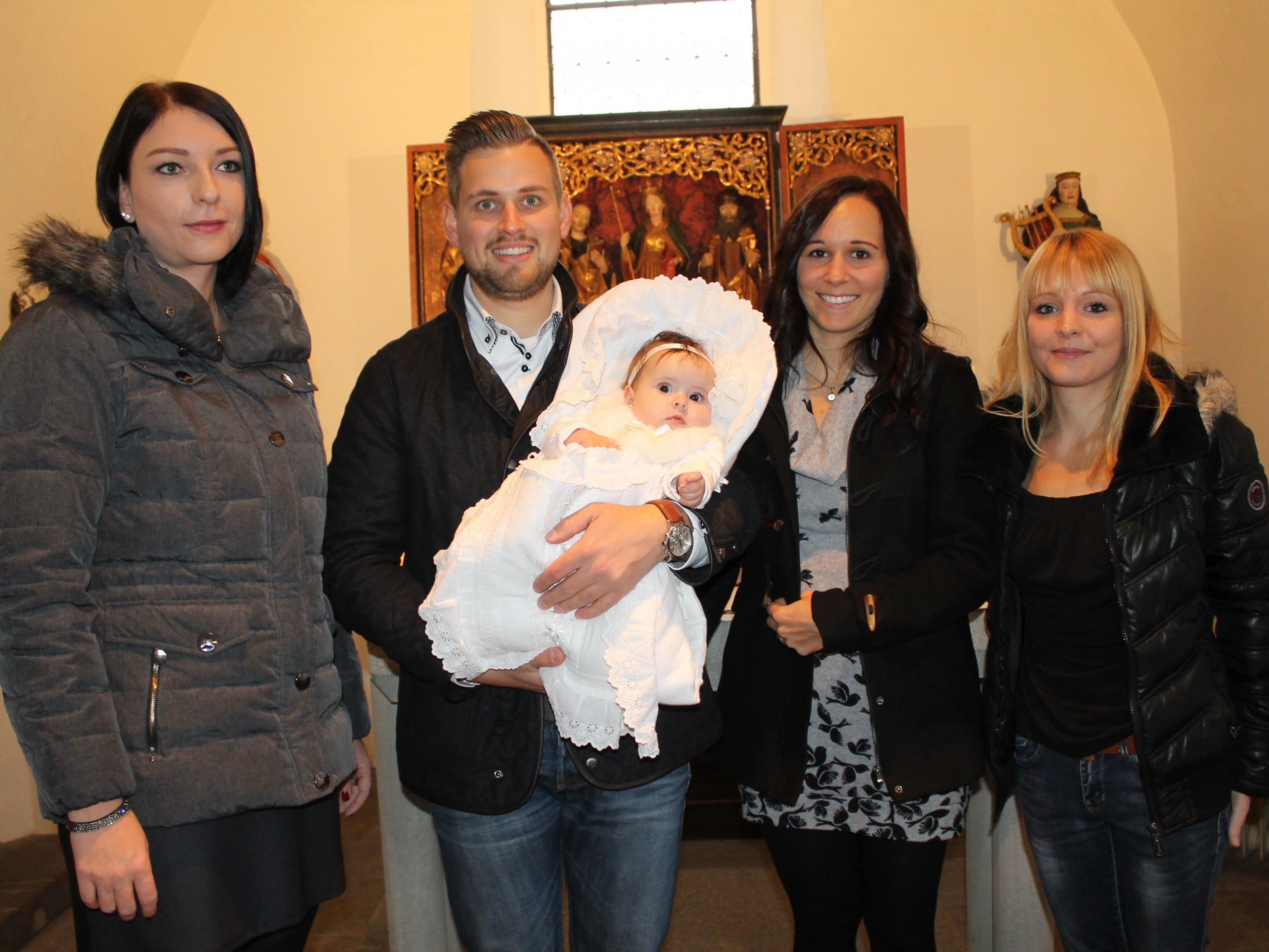Emma Bilgeri wurde in der St. Vinerkirche getauft