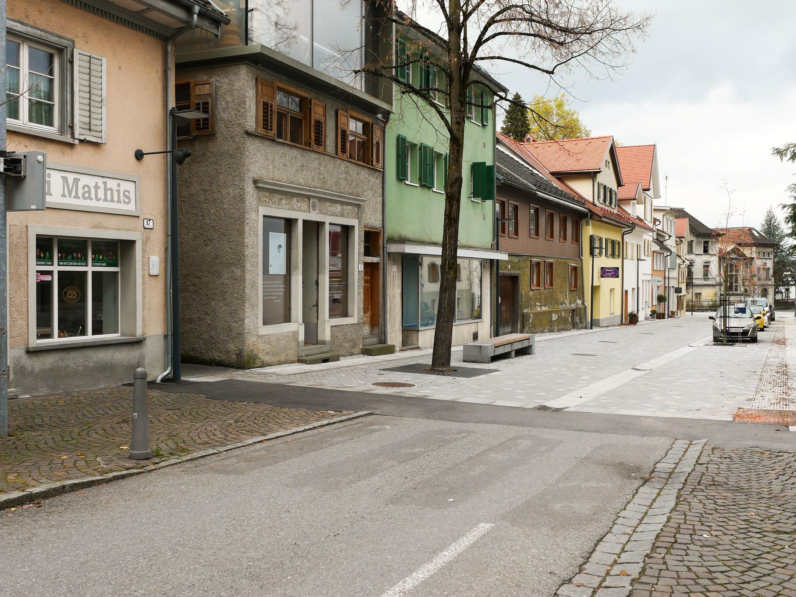 Der nördliche Teil der Marktstraße ist bereits umgestaltet worden – nun folgt der südliche Teil.