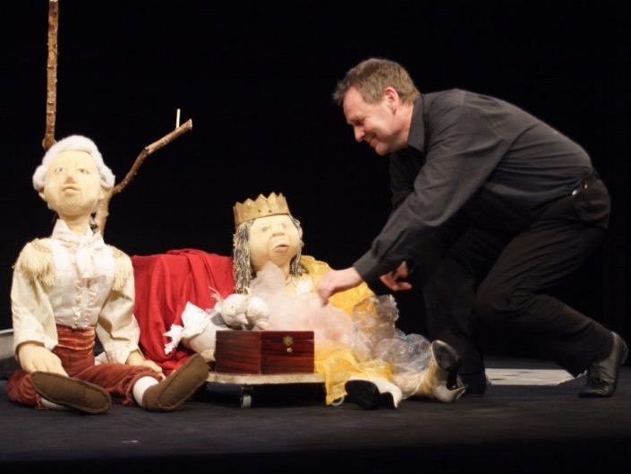 Das Puppentheater amBach zeigt auch das Aschenputtel
