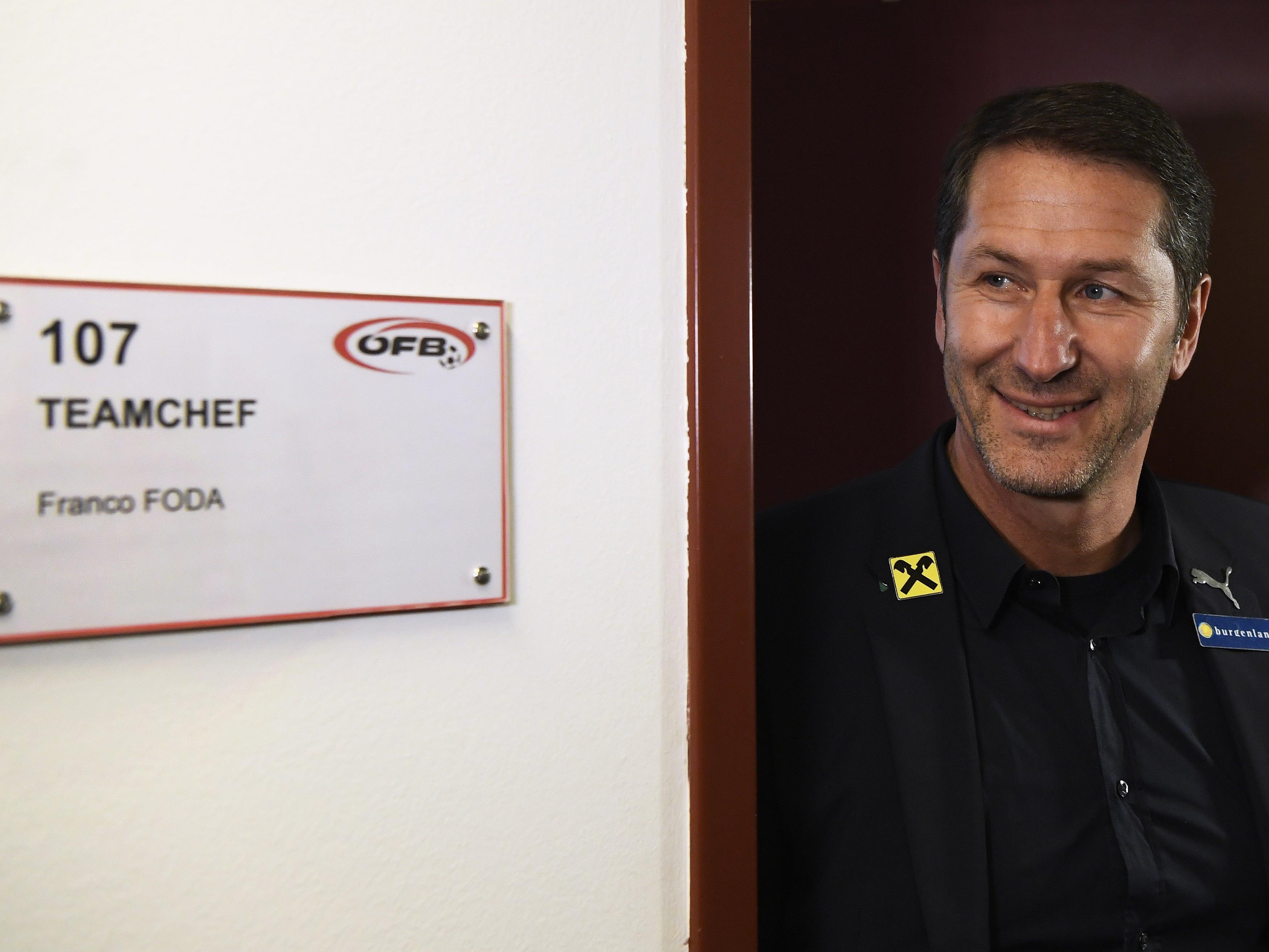 Franco Foda schielt für die Österreichische Nationalmannschaft nach England.