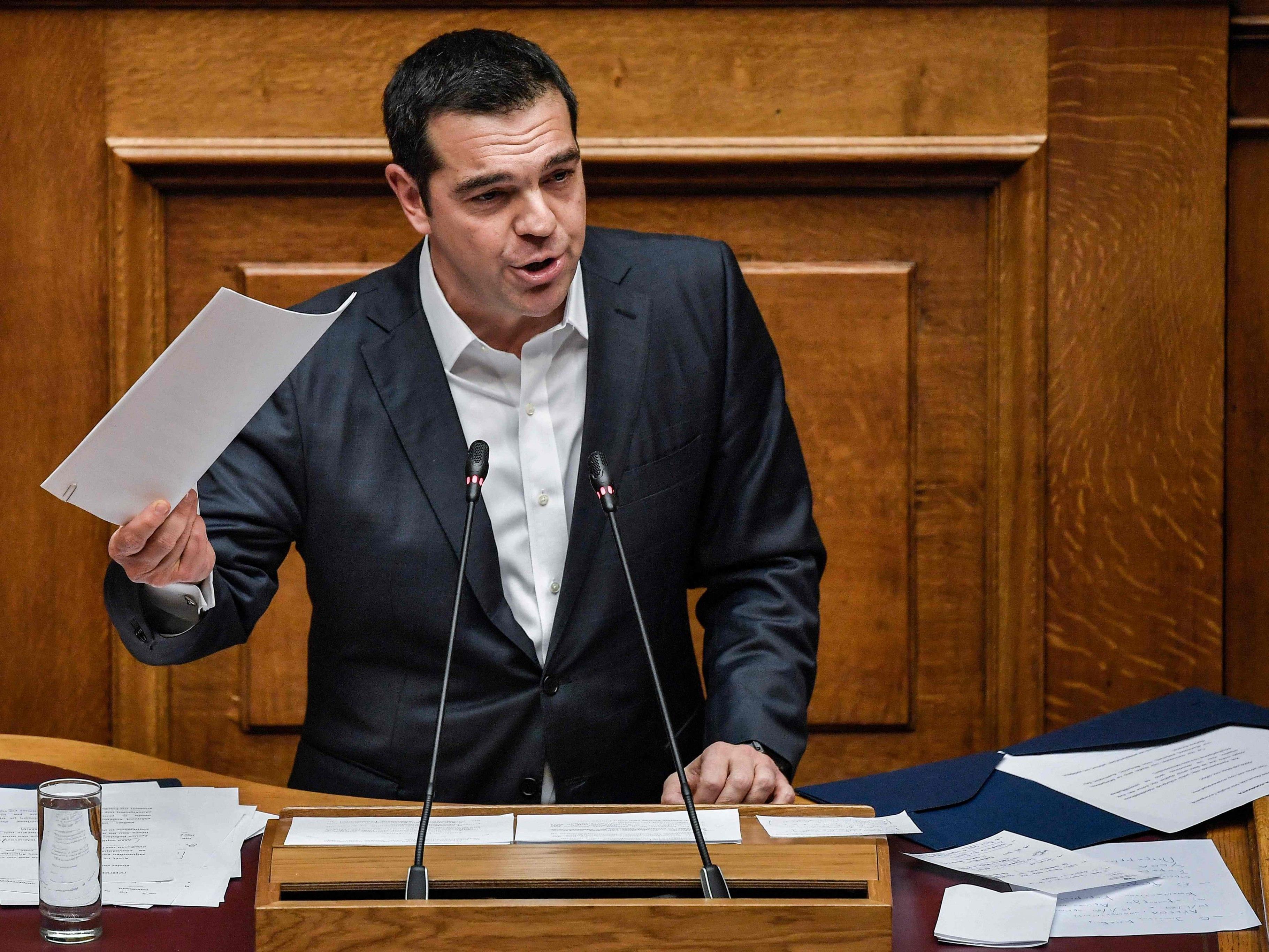 Premierminister Tsipras