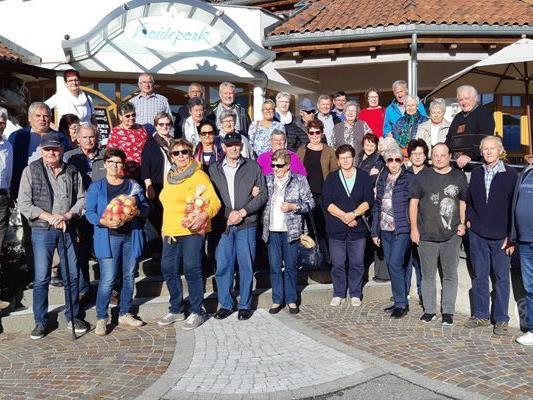 Die Pensionisten Thürinen auf herrlicher Herbsreise in Südtirol