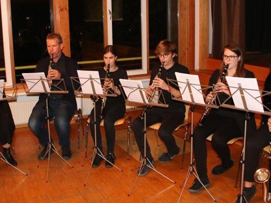 Musikalische Klänge bei Generalversammlung der MS Walgau