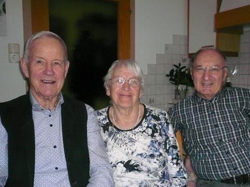 Jubilarin Frau Julie Winkler ist 85. Jahre!