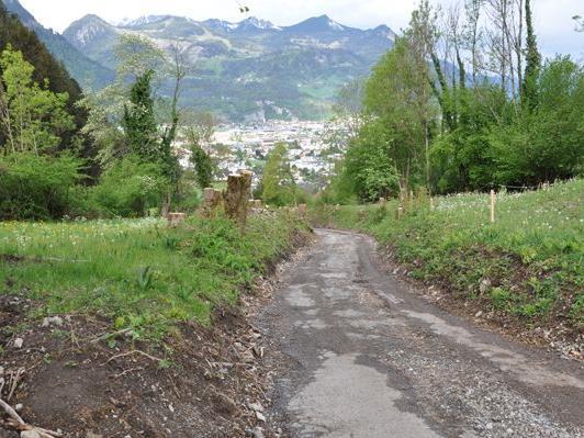 Der Straßenbelag des Hohlweges in Rungelin wird ab Mitte Mai erneuert.