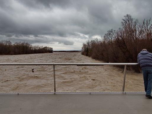Hochwasser Bregenzerach