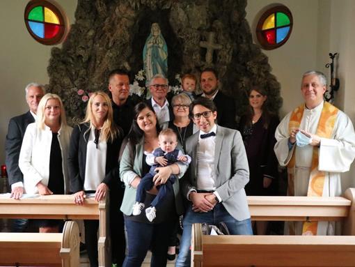 Taufe von Sonnenschein Elias Wilfried
