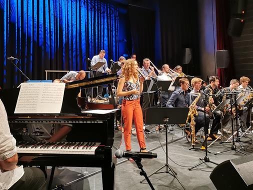 Bludenz Big Band Union mit Peter Madsen & Veronika Morscher