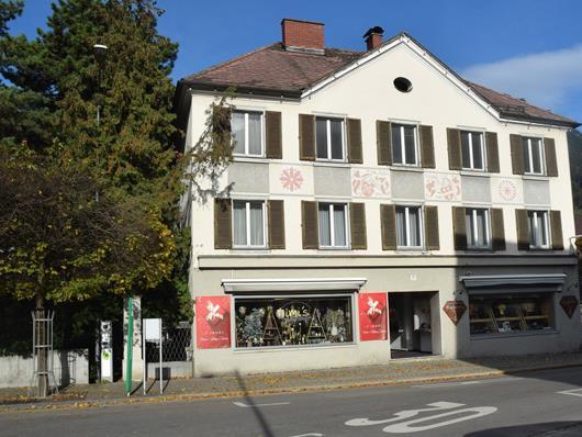 Würbelareal - Haus von Sparkassendirektor KR Fritz Würbel