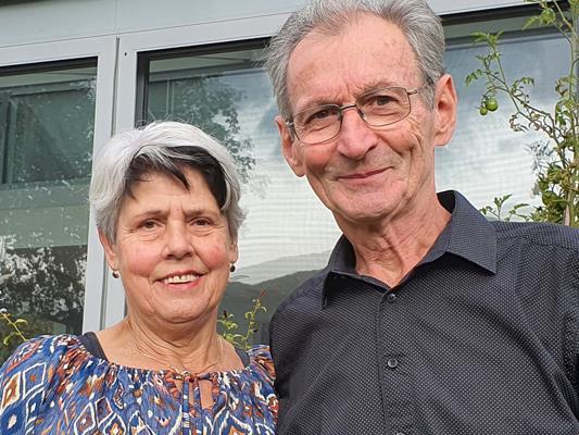 Beste Glückwünsche für das Jubelpaar Josefine und Otto