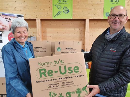 Im ASZ Königswiesen kann die leere Box geholt und die volle abgegeben werden.