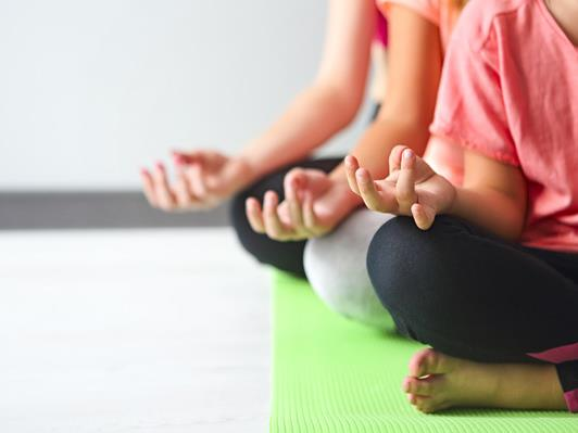 Aufgrund der derzeit geltenden Schutzmaßnahmen muss der Start des Kinder-Yoga-Kurses voraussichtlich auf März verschoben werden.