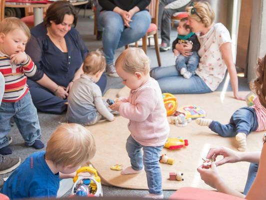 Die beiden April-Termine des beliebten Eltern-Kind-Cafés müssen leider abgesagt werden.