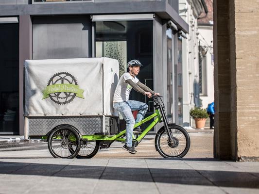 Warentransport per Fahrrad