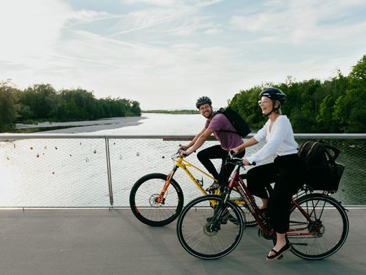 Morgen startet der landesweite RADIUS Fahrradwettbewerb.