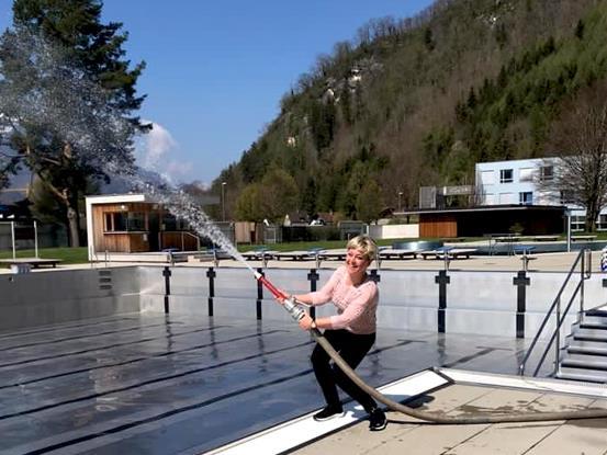 Das Val Blu ist für den Start in die diesjährige Freibad-Saison bereits gerüstet.