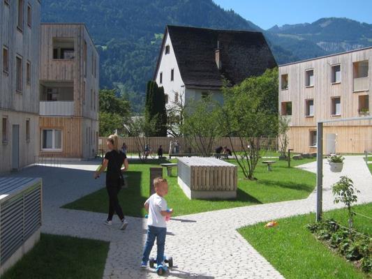 Der Spielplatz Maierhof ist eine wichtige Bereicherung für den Ortsteil Brunnenfeld.