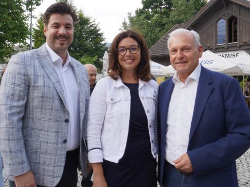 Cenc Dogan, Stadträtin Andrea Mallitsch, Erwin Kositz