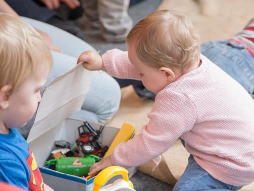 Groß ist die Vorfreude auf das Eltern-Kind-Café in Bludenz