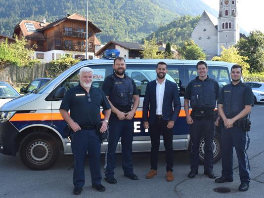 Gleich vier neue Mitarbeiter konnte die Stadtpolizei heuer ins Team aufnehmen.