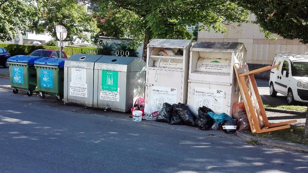 Unberechtigte Müllentsorgung