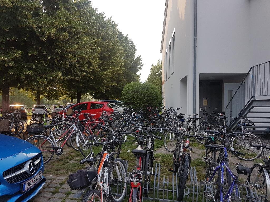 Fahrrad Stellplatz
